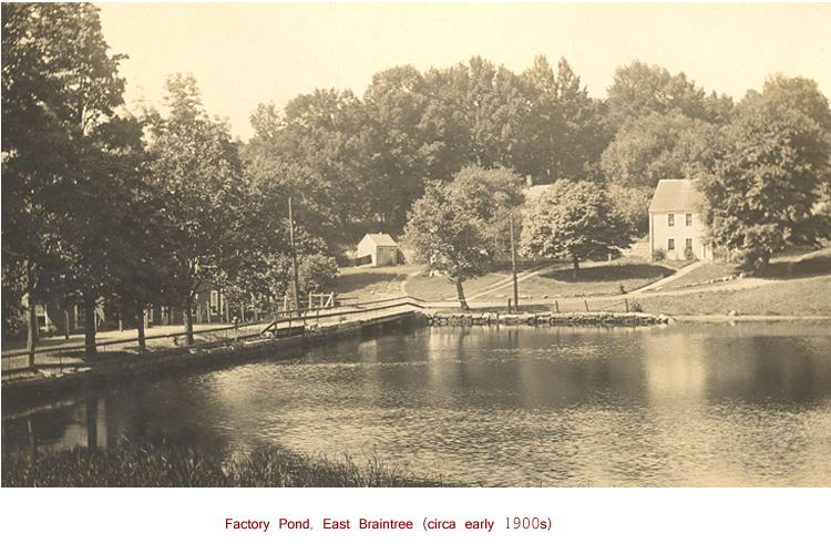 Factory Pond, East Braintree (circa early 1900s)