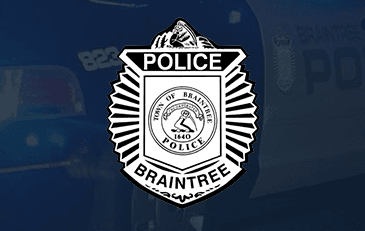 Braintree Police Department Badge