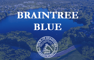 Braintree Blue with Town Seal