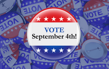 Vote September 4th!
