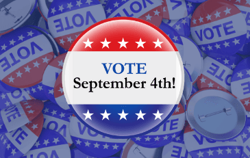 Remember to Vote september 4