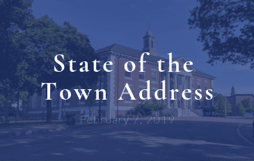 State of the Town address. February 7, 2019