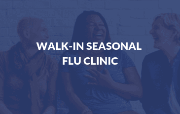 Walk In Flu Clinic