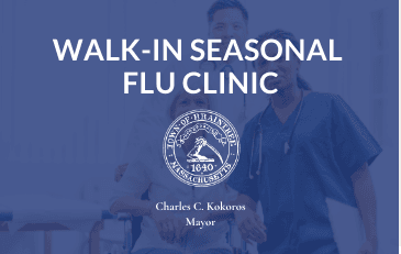 WALK-IN SEASONAL FLU CLINIC