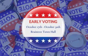 Town Web - News Image Early Voting